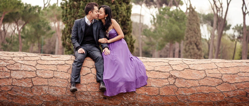 Свадебное путешествие в Рим в марте