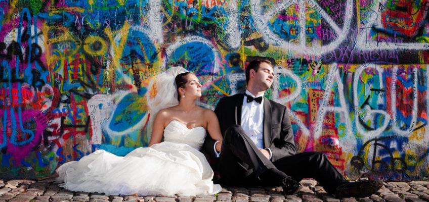 достопримечательности Праги стена Ленона