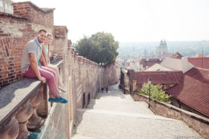 красивые виды в Праге