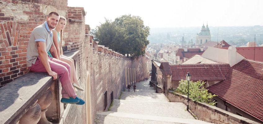 фотосессия в Праге напамять