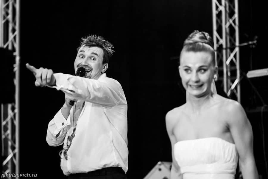 Свадьба в Германии - выступление артистов