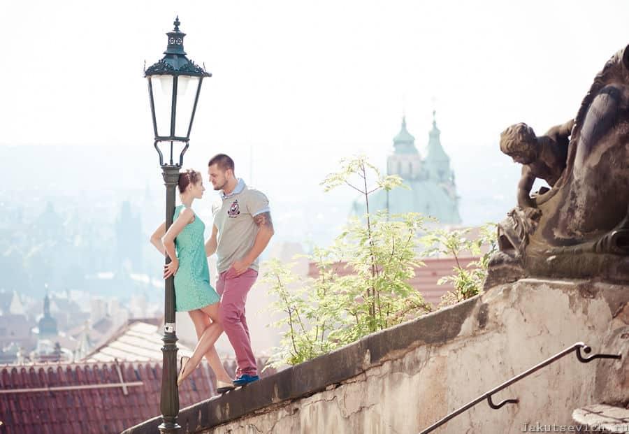 Фотограф в Праге Артур Якуцевич - фотосессия у достопримечательностей