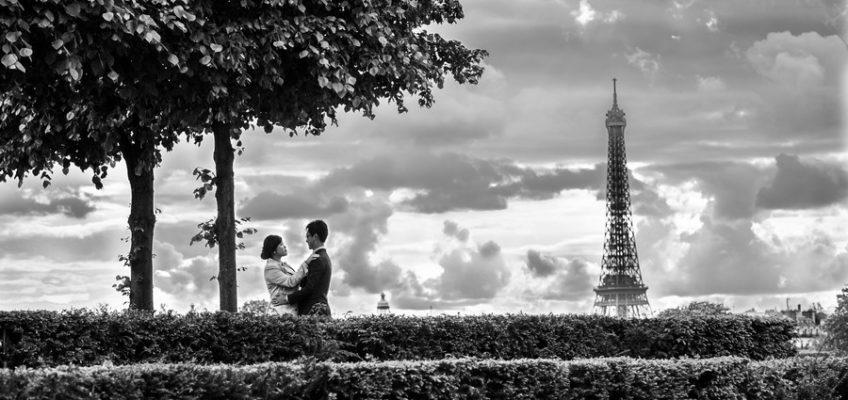 Париж свадебная фотография