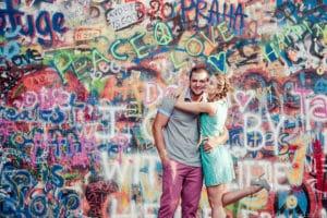 красивая пара из Алма-Аты