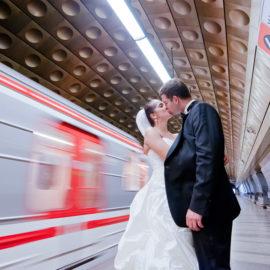 Свадебное путешествие в Прагу: фотосессия для Славомира и Юлии