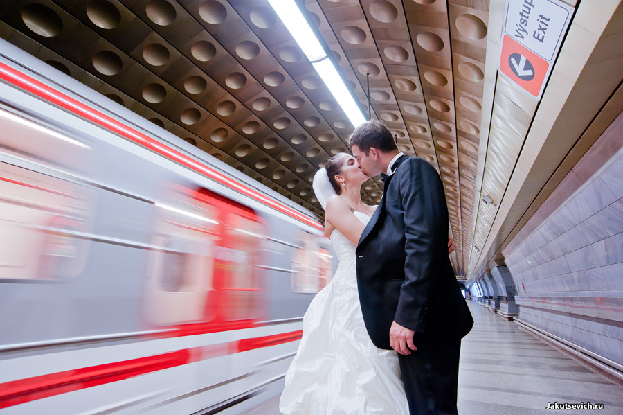 Прага свадебный фотограф Артур Якуцевич
