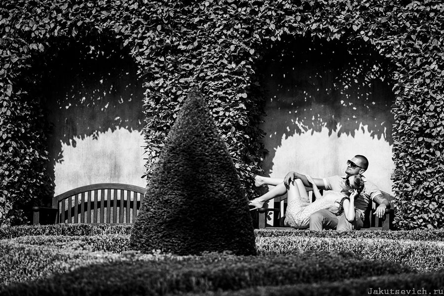 Интересные места в Праге - Вртбовский сад