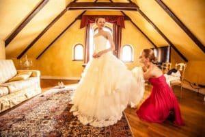 подготовка к свадьбе в Праге