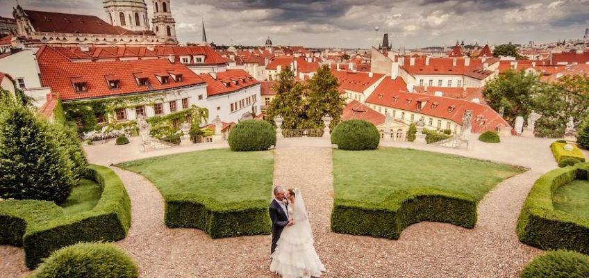 романтическая свадьба в Праге