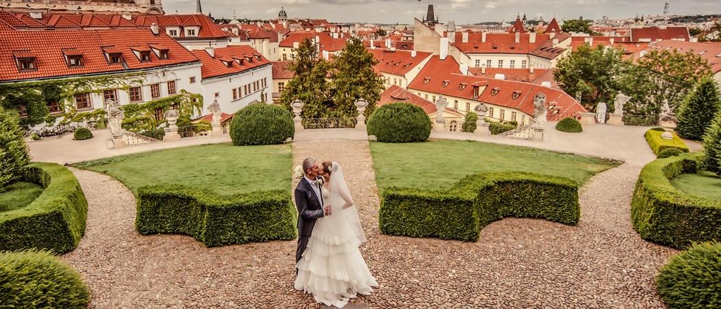 Свадьба и фотосессия в Праге в июне Азата и Тани