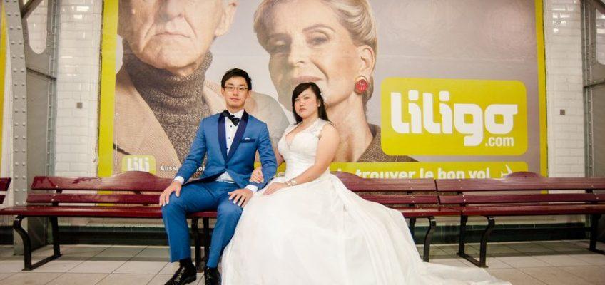 свадьба заграницей в Париже