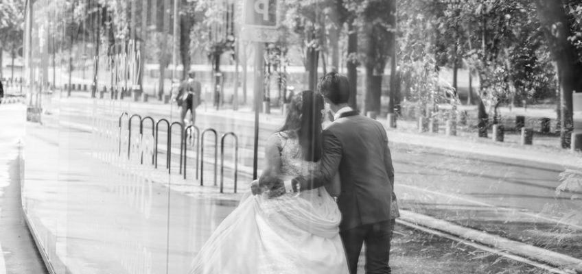 свадьба в Париже заграницей