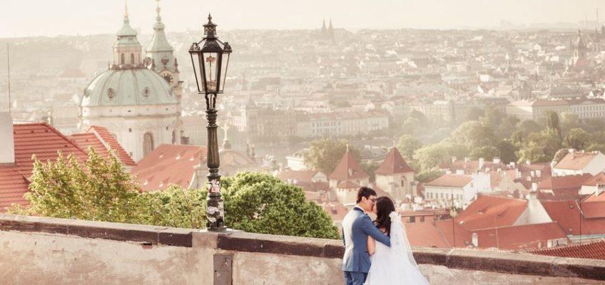 свадьба заграницей в Праге