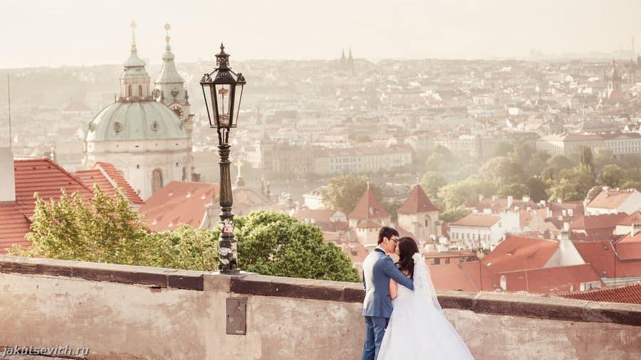 свадебное путешествие в Прагу - фотограф Артур Якуцевич