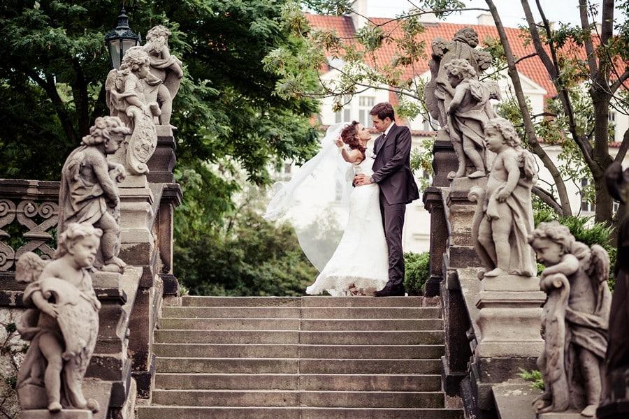 Свадебная фотосессия в Праге - фотограф Артур Якуцевич