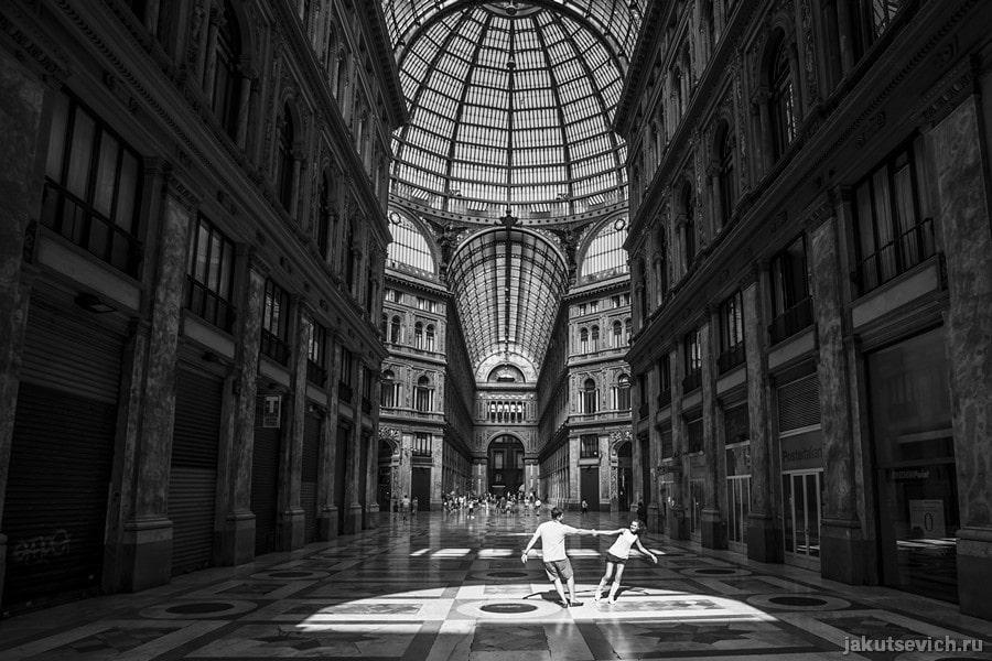 фотосессия в Италии - Неаполь