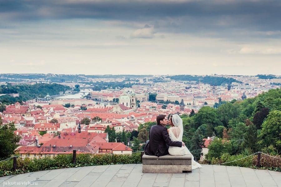 Свадьба в Чехии - фото Артура Якуцевича