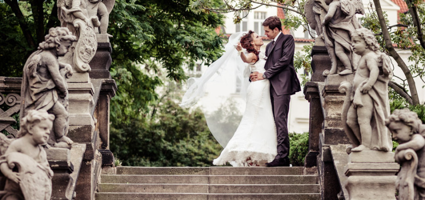 Свадьба в Чехии в августе Полины и Вадима — замок Шато Барокко