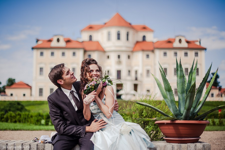 Свадьба в Чехии - замок Шато Барокко
