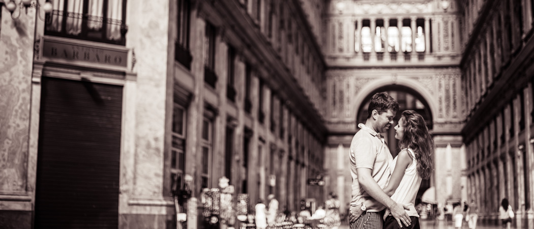Фотосессия в Неаполе: Максим и Марина