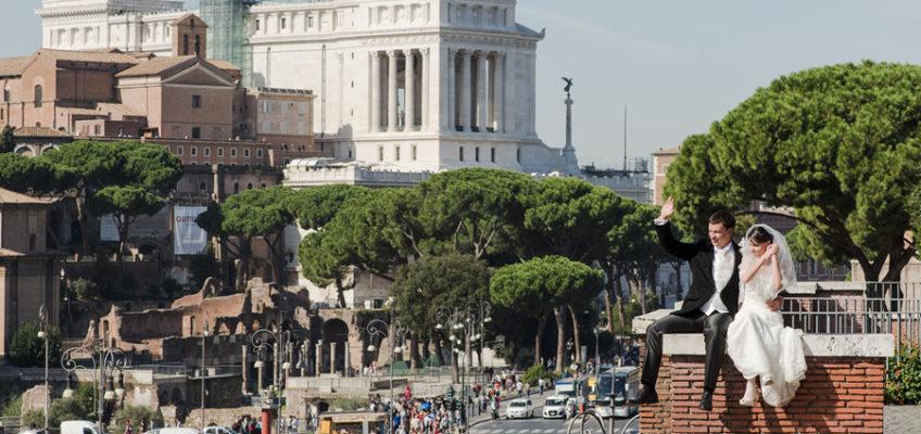 Рим свадьба в Италии фотограф