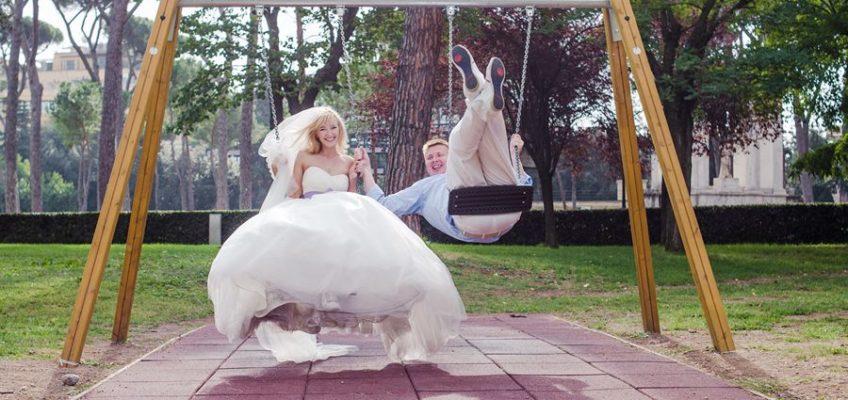свадьба в Италии на Вилла Боргезе