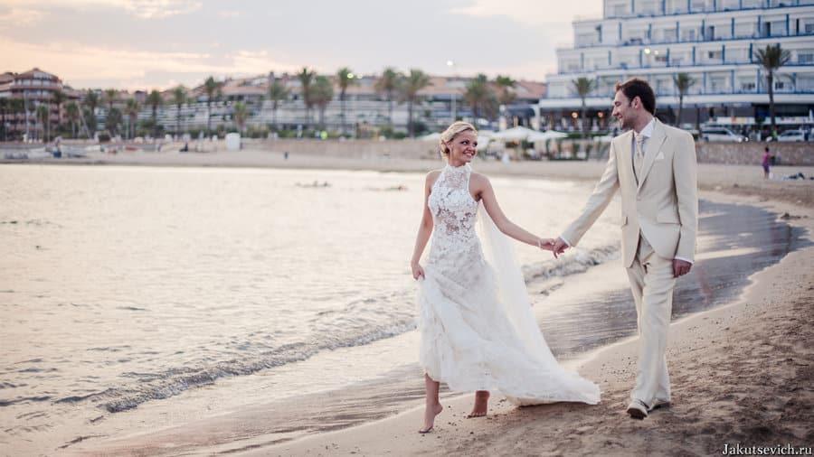 свадьба за границей в Испании