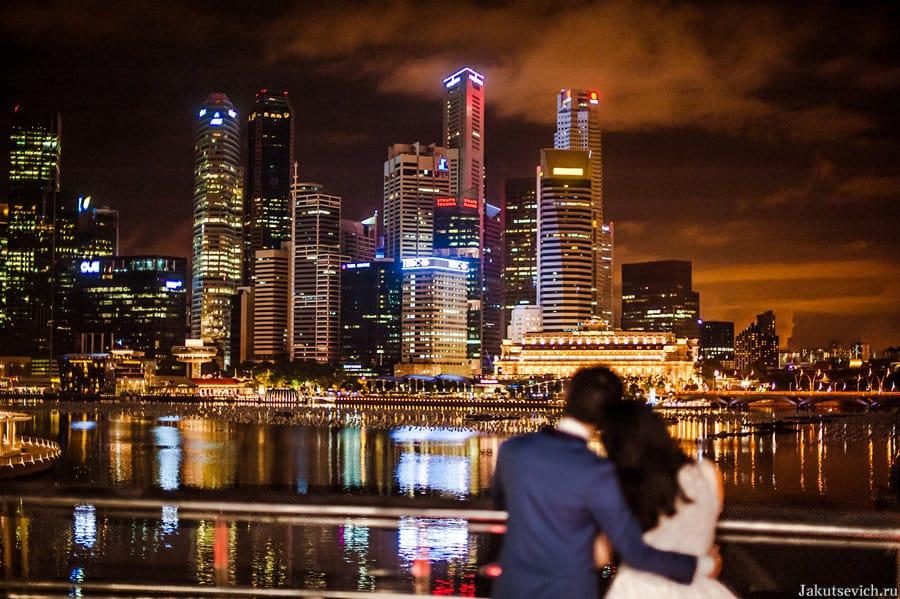 свадьба за границей в Сингапуре