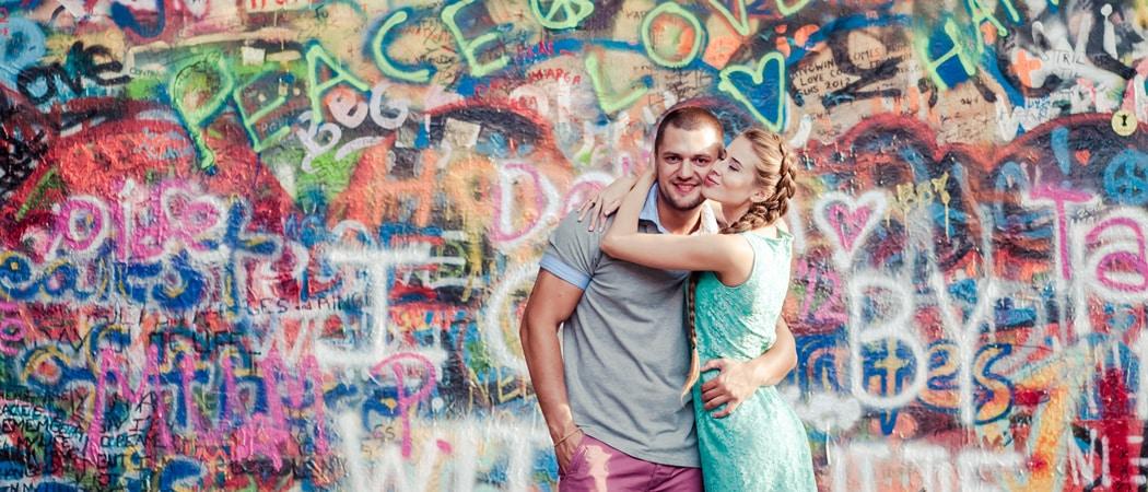 Фотосессия у достопримечательностей Праги в мае для Насти и Кирилла