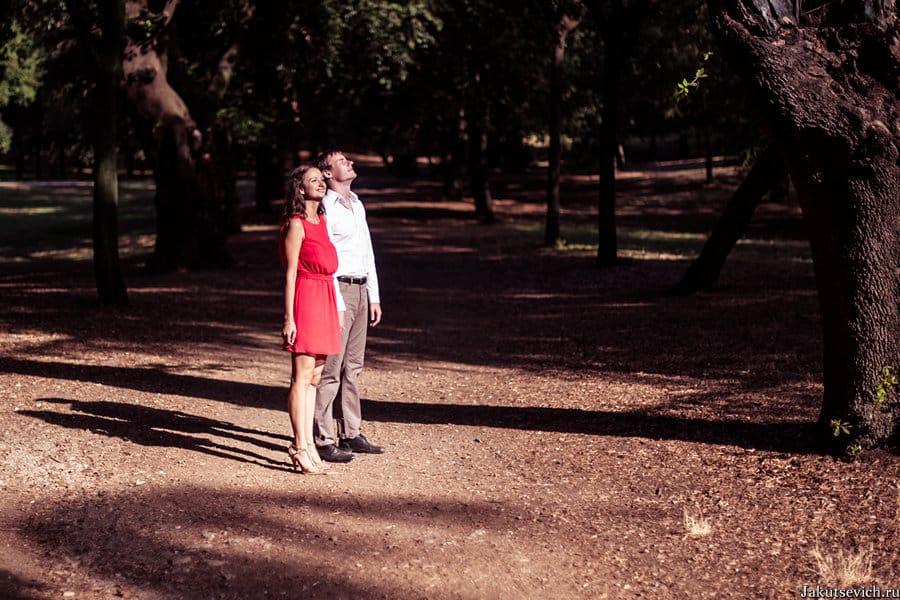 Фотосессия в Риме - свадебный фотограф в Италии Артур Якуцевич