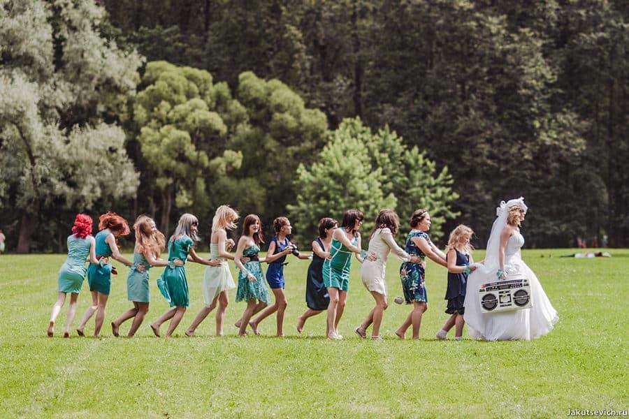 Свадебные идеи, что делать на фотосессии?
