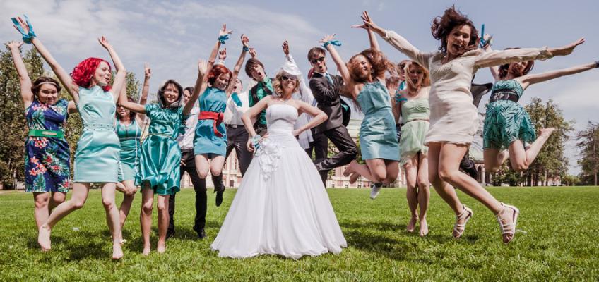 Красивая свадьба в Москве Ланы и Булата