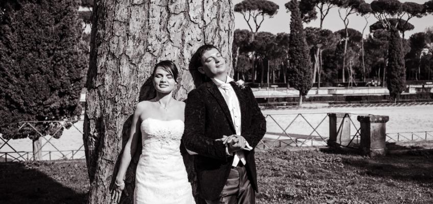 Свадьба в Риме в октябре Елены и Дениса