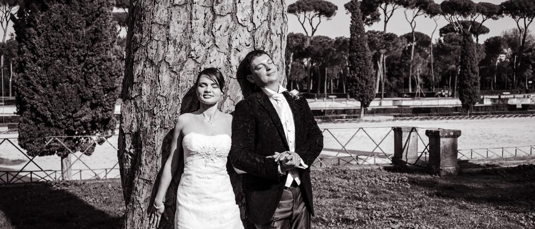 Свадьба в Риме Елены и Дениса