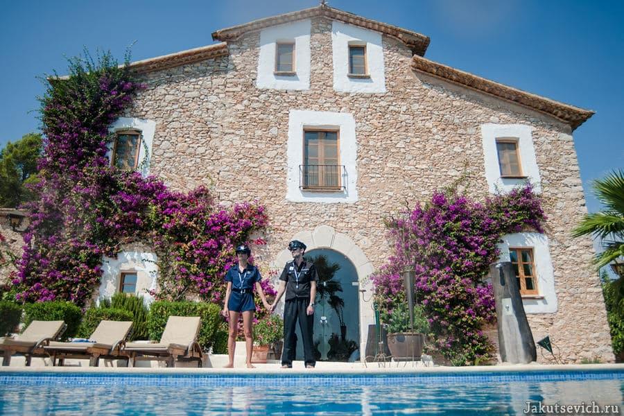 красивая свадьба в Испании