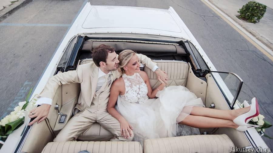 красивая свадебная фотосессия в Испании