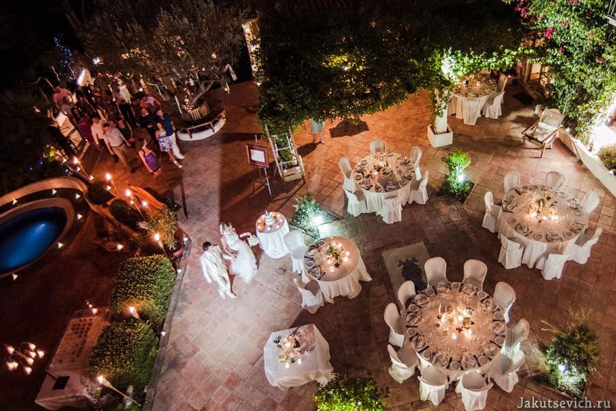 Необычная свадьба в Испании