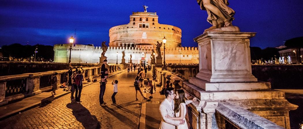 Фотосессия в Риме в мае: свадебное путешествие Сэнди и Давида