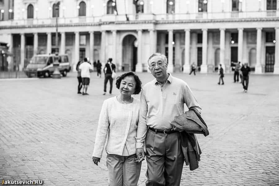 Свадебное путешествие в Рим с родителями