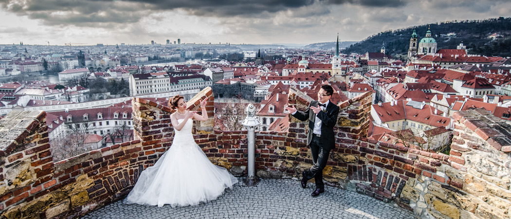Свадебное путешествие в Прагу - фотограф в Чехии Артур Якуцевич