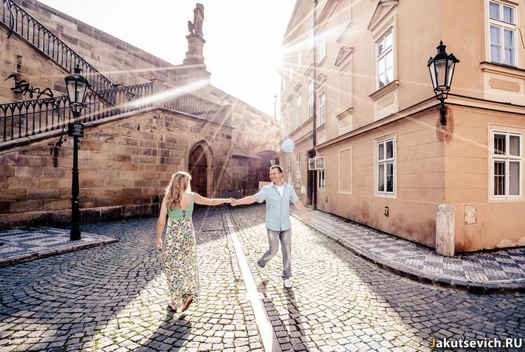 Прогулка по Праге - утром - фотограф в Чехии