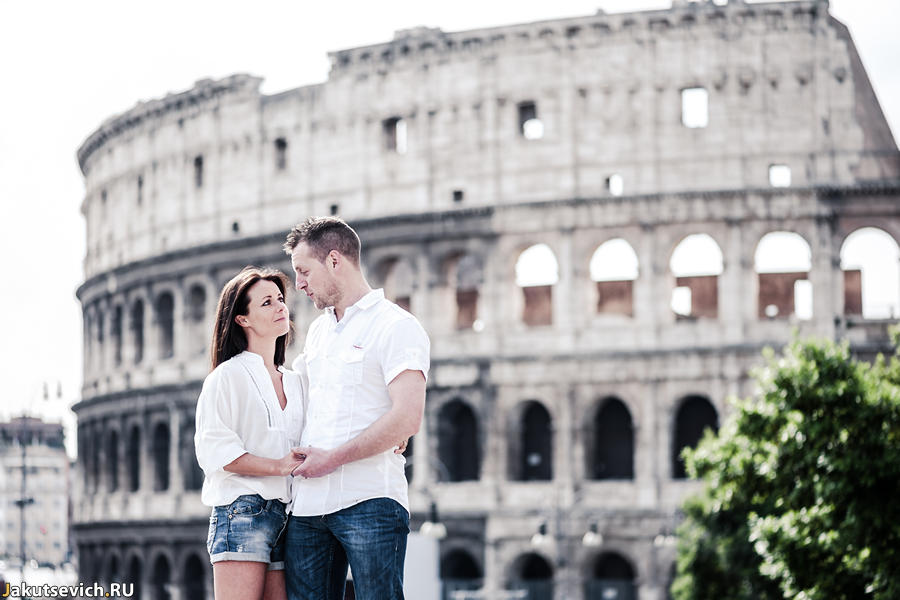 Прогулка по Риму - фотограф в Италии Артур Якуцевич