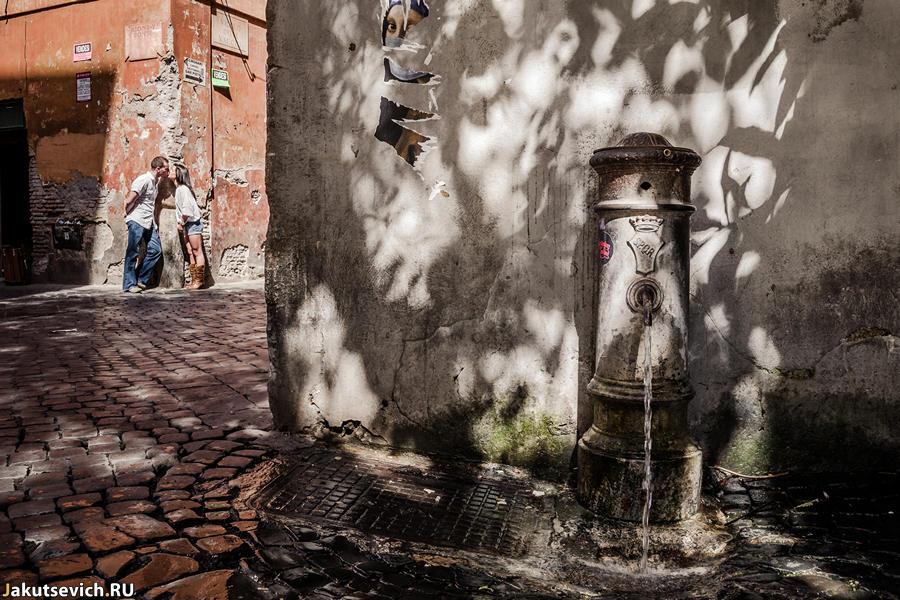 Прогулка по Риму - фотосессия до свадьбы