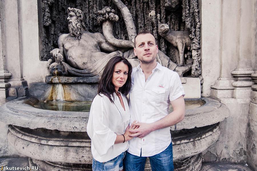 Прогулка по Риму - римские фонтаны