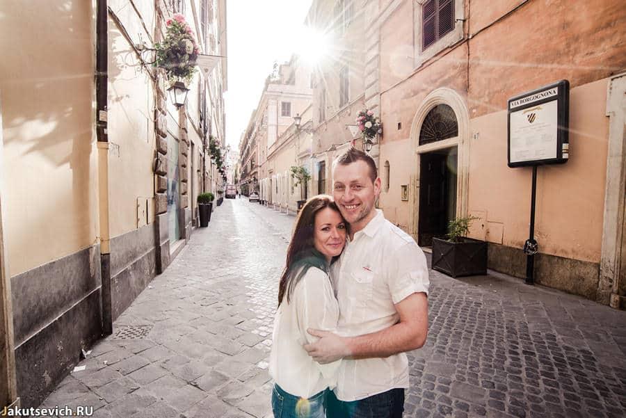 Прогулка по Риму - замечательное утро с Аймир и Вилли