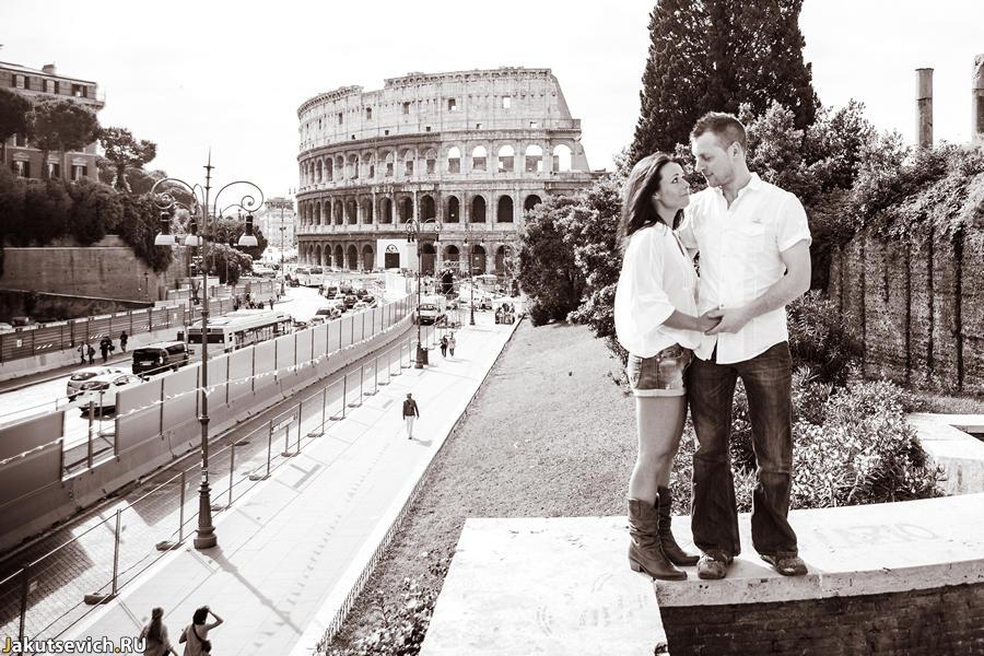 Прогулка по Риму - замечательное утро у Колизея