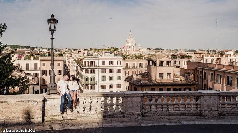 Смотровая площадка с видом на Ватикан