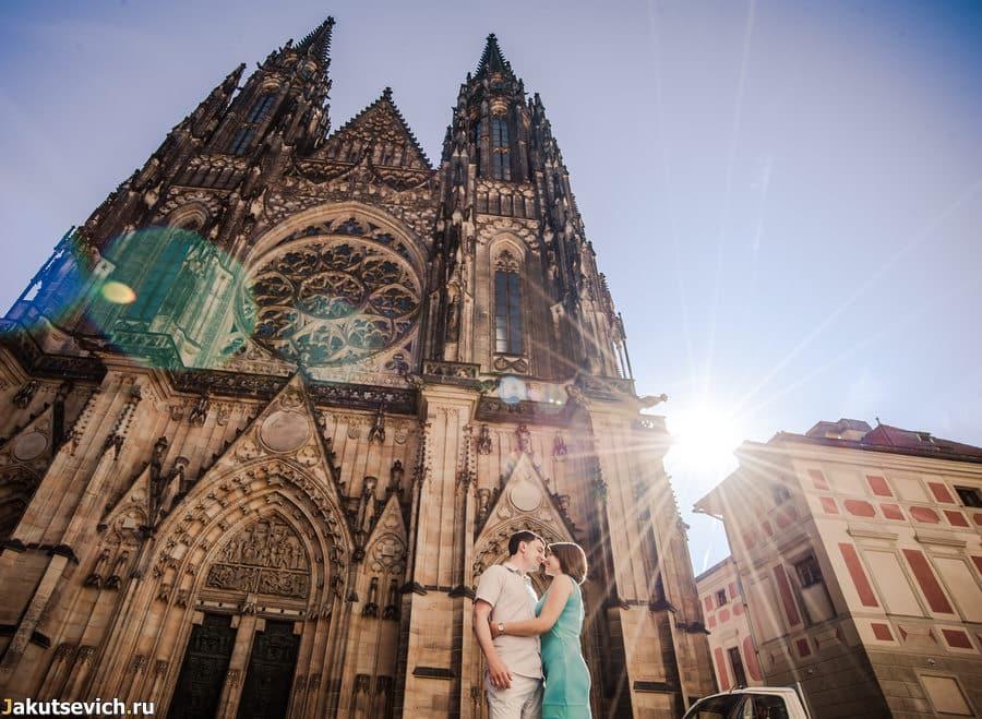 Собор святого Вита в Праге за 5 минут до прихода туристов