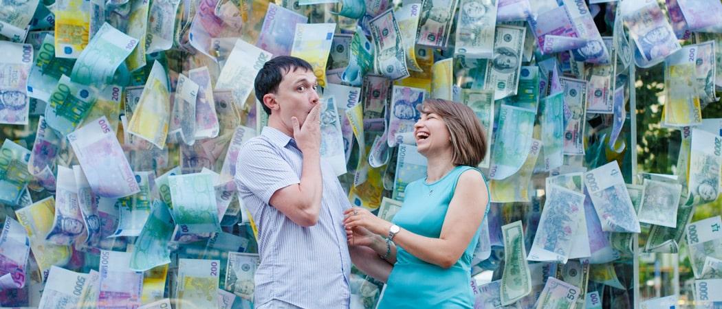 Годовщина свадьбы в Праге: фотосессия в августе для Ани и Сергея