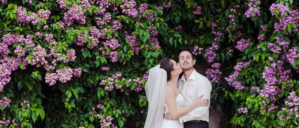 Свадебная фотосессия в Риме в июле для Людмилы и Дмитрия